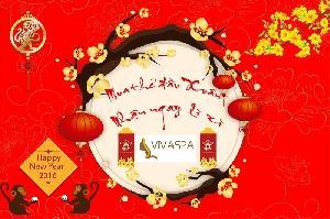 Lộc vàng khai xuân, Viva Spa tặng quà đầu năm