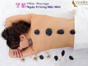 Thử Là Mê Gói Massage Đá Nóng 3 in 1
